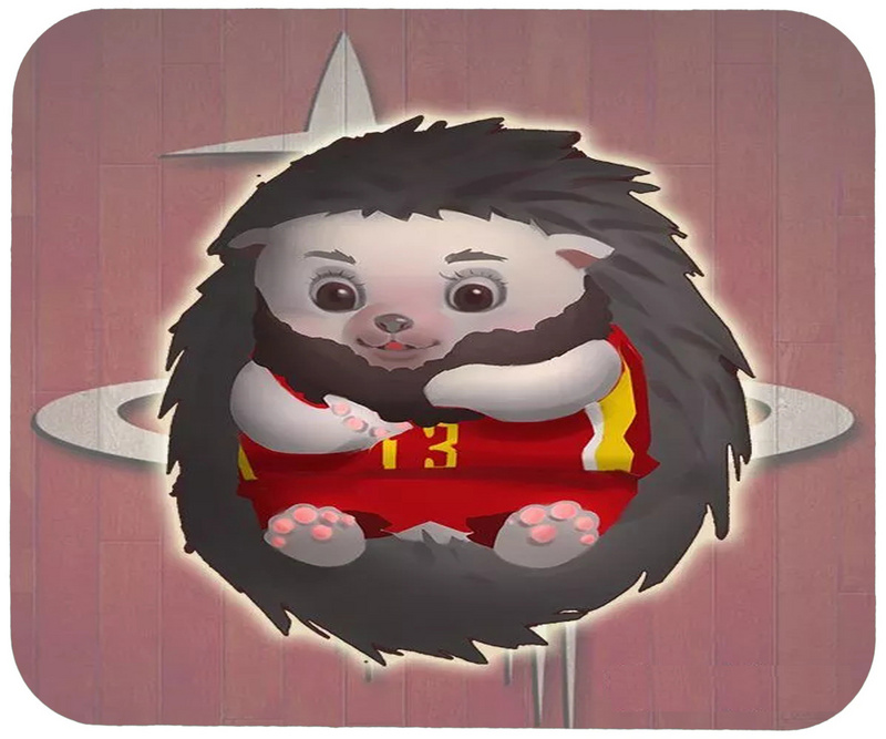 Rockets Cartoon Logo Gaming/Office Mouse Pad2