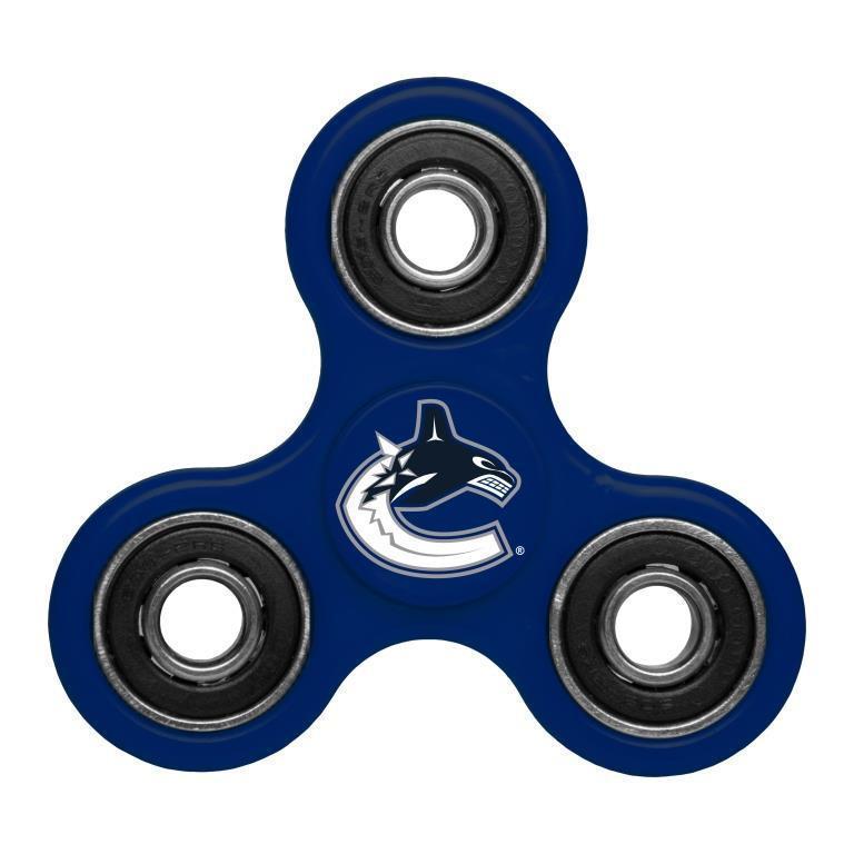 Canucks Team Logo Blue Fidget Spinner