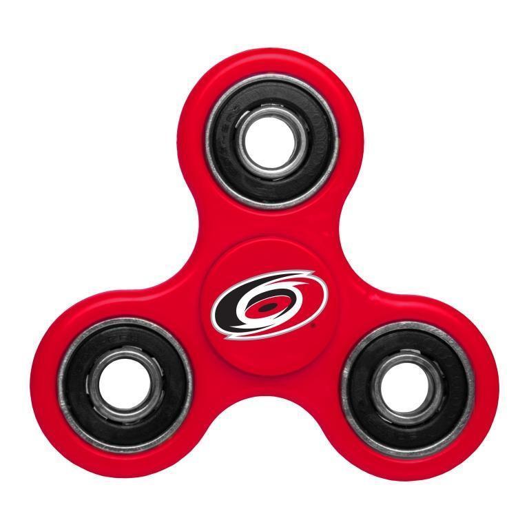 Hurricanes Team Logo Red Fidget Spinner