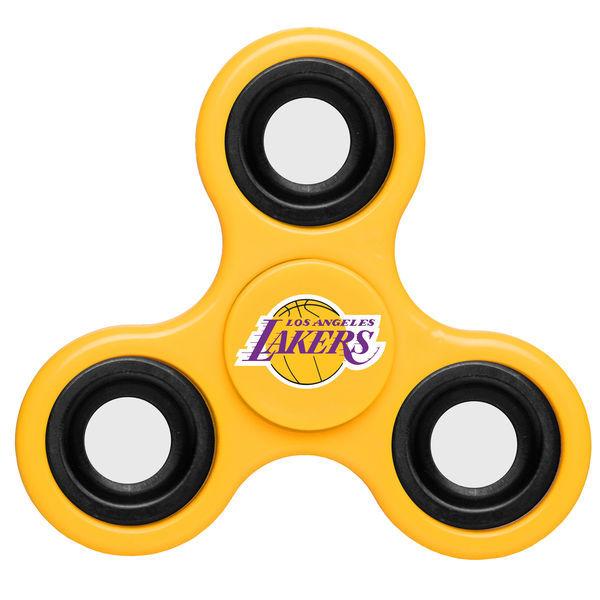 Lakers Team Logo Yellow Fidget Spinner