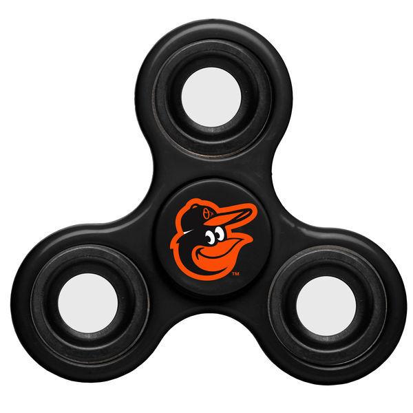 Orioles Team Logo Black Fidget Spinner