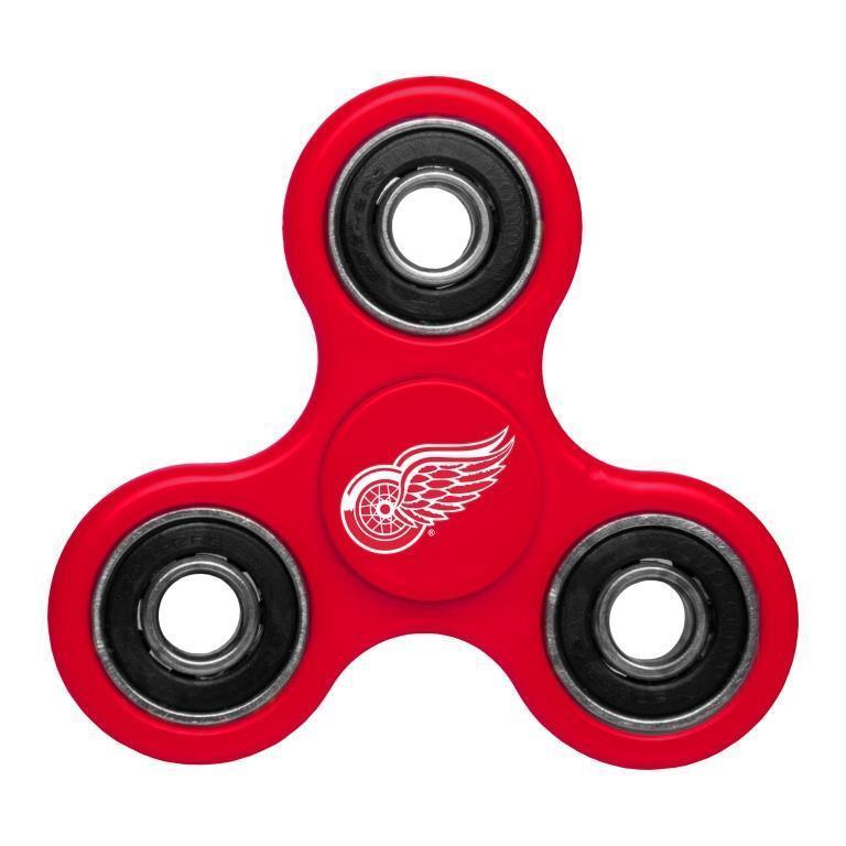 Red Wings Team Logo Red Fidget Spinner