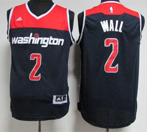 Wizards 2 John Wall Navy Swingman Jersey