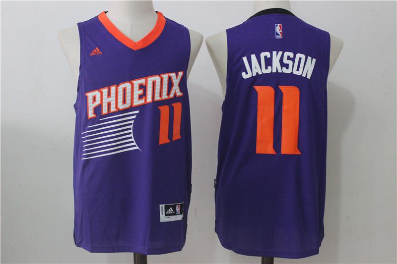 Suns 11 Josh Jackson Purple Swingman Jersey