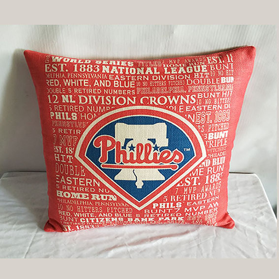 Philadelphia Phillies Baseball Pillow