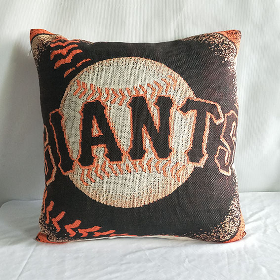 San Francisco Giants Baseball Pillow