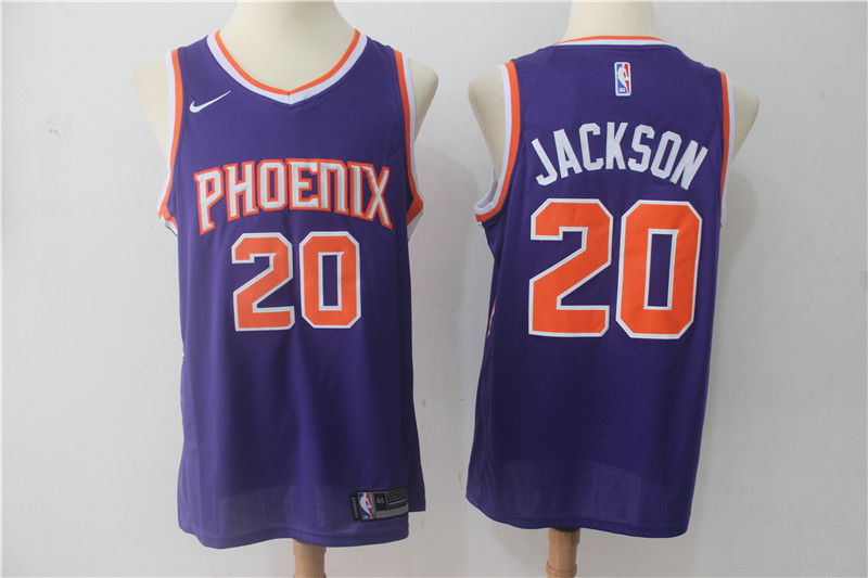 Suns 20 Josh Jackson Purple Nike Swingman Jersey(Without The Sponsor Logo)