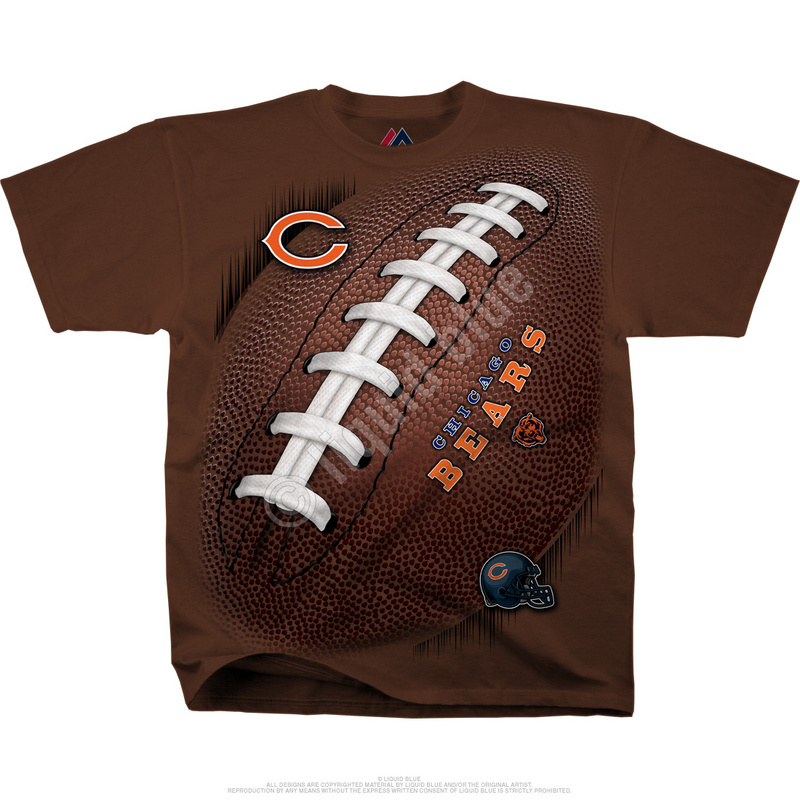 Chicago Bears Kickoff Tie-Dye Premium Men's T-Shirt