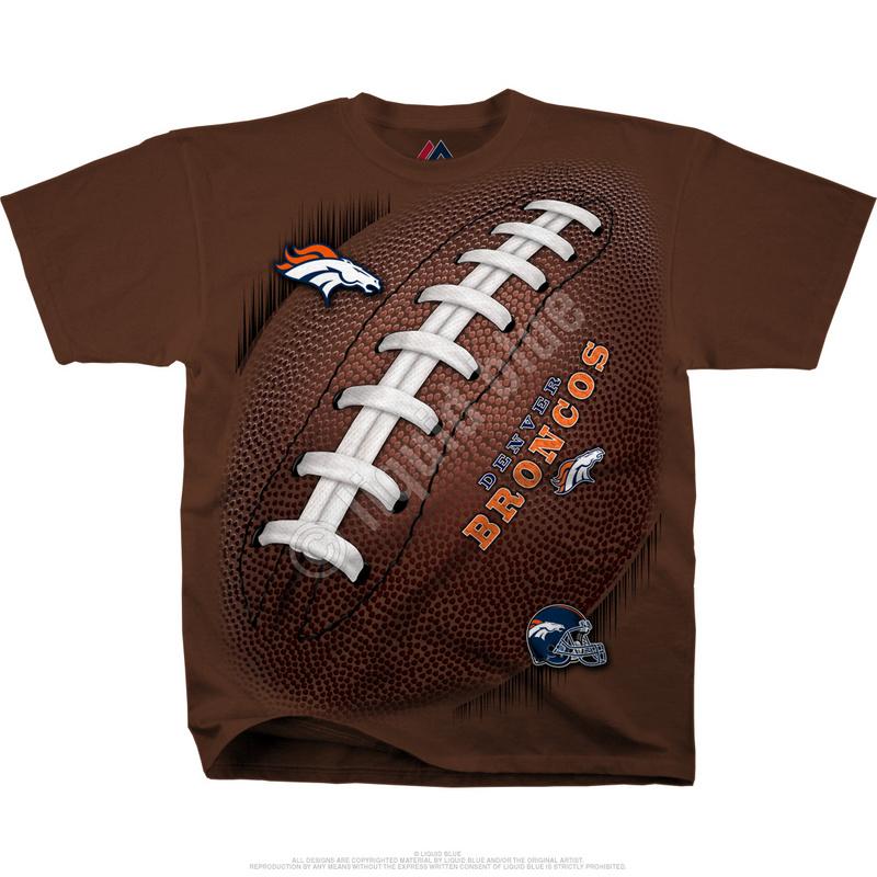 Denver Broncos Kickoff Tie-Dye Premium Men's T-Shirt