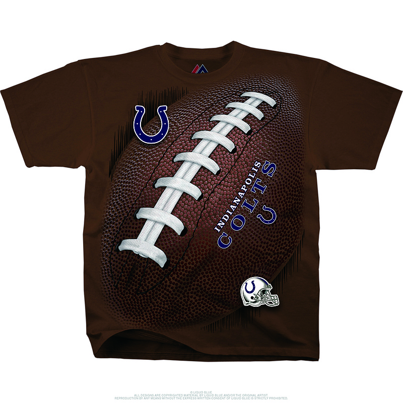 Indianapolis Colts Kickoff Tie-Dye Premium Men's T-Shirt