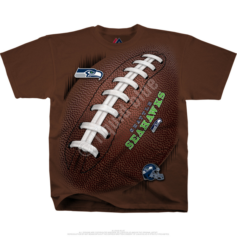 Seattle Seahawks Kickoff Tie-Dye Premium Men's T-Shirt