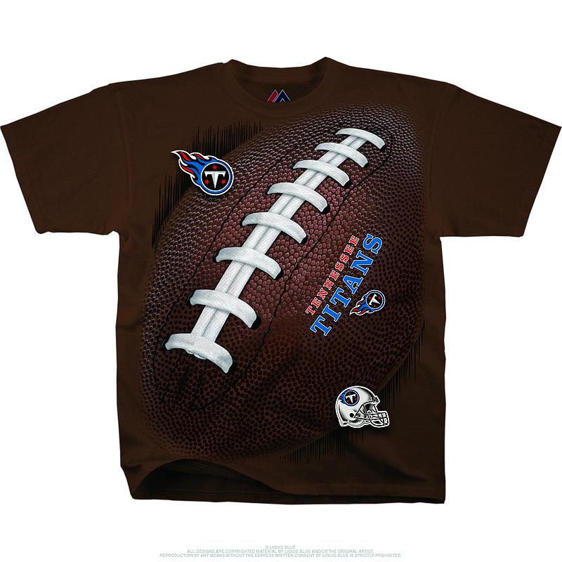Tennessee Titans Kickoff Tie-Dye Premium Men's T-Shirt
