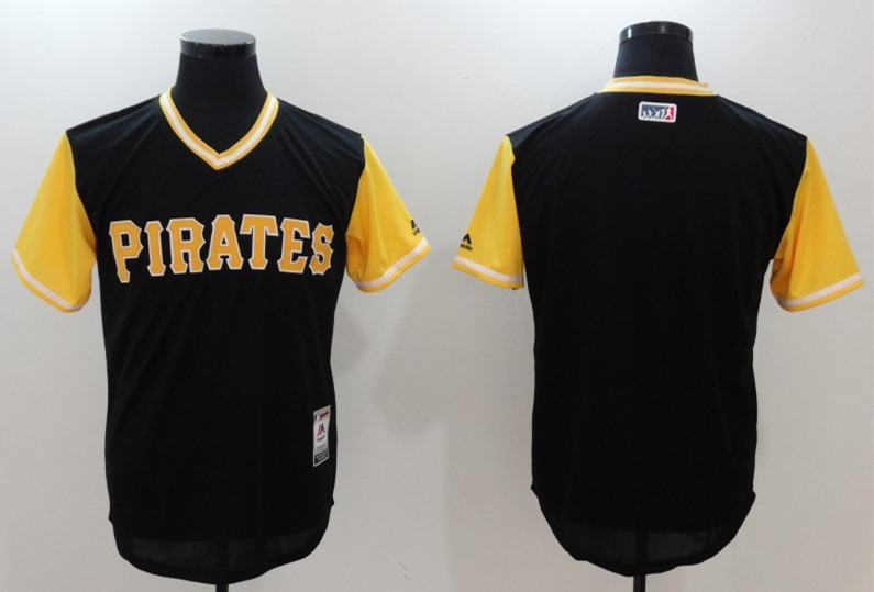 Pirates Majestic Black 2017 Players Weekend Team Jersey