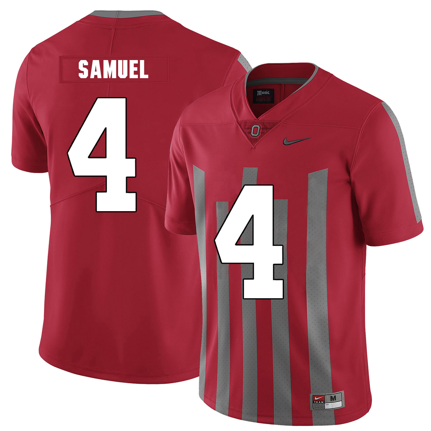 Ohio State Buckeyes 4 Curtis Samuel Red Elite Nike College Football Jersey
