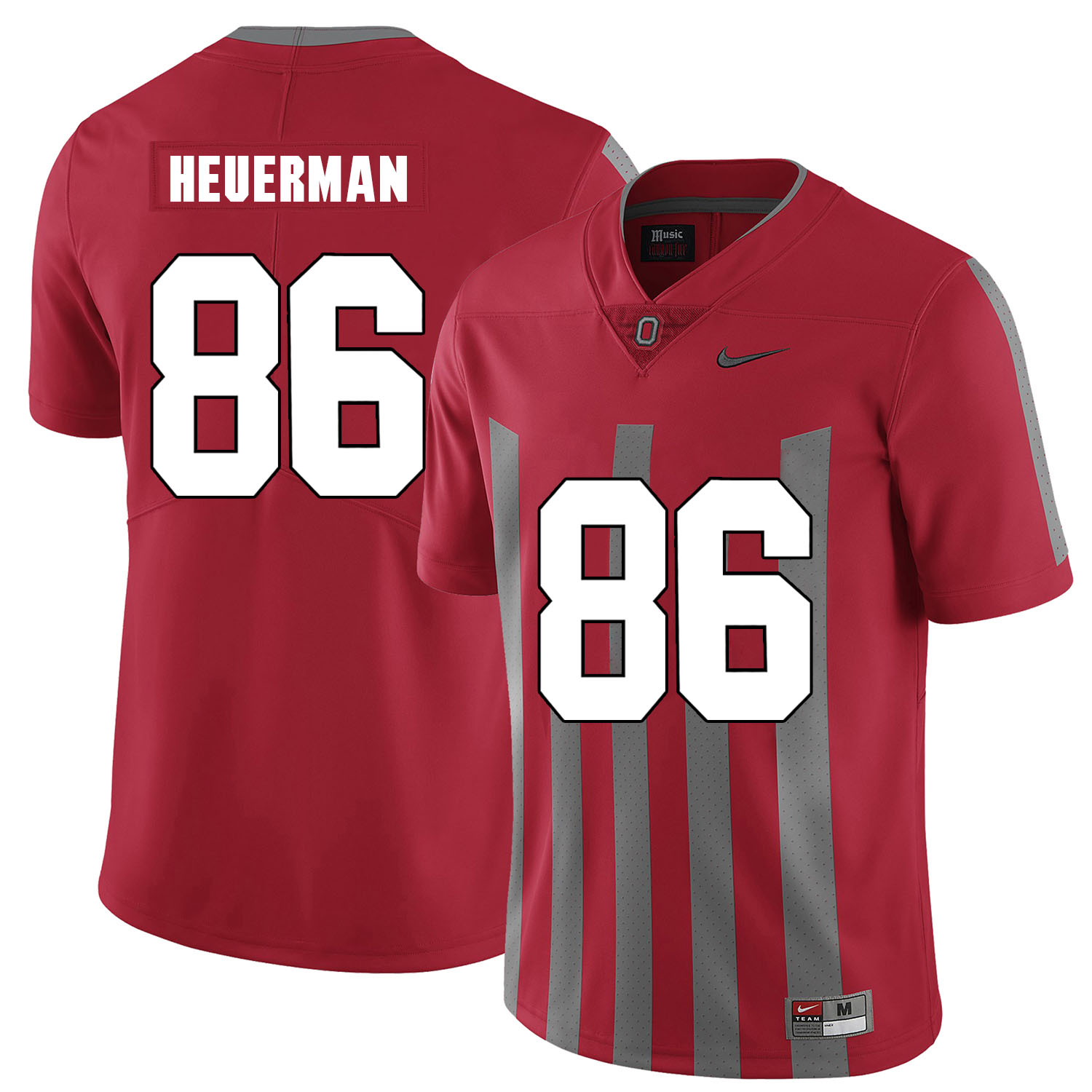 Ohio State Buckeyes 86 Jeff Heuerman Red Elite Nike College Football Jersey