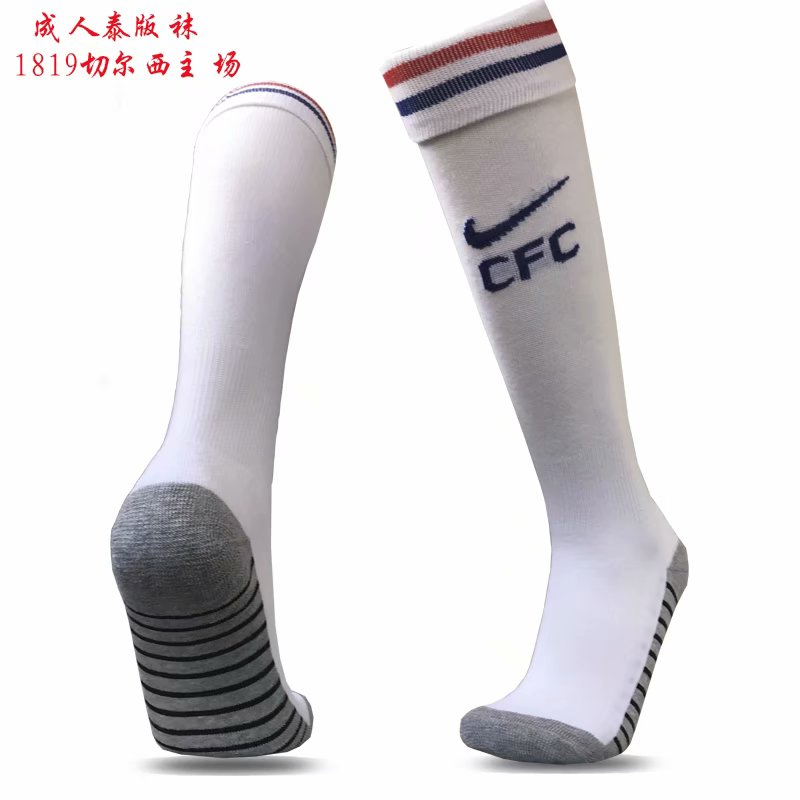 2018-19 Chelsea Home Soccer Socks