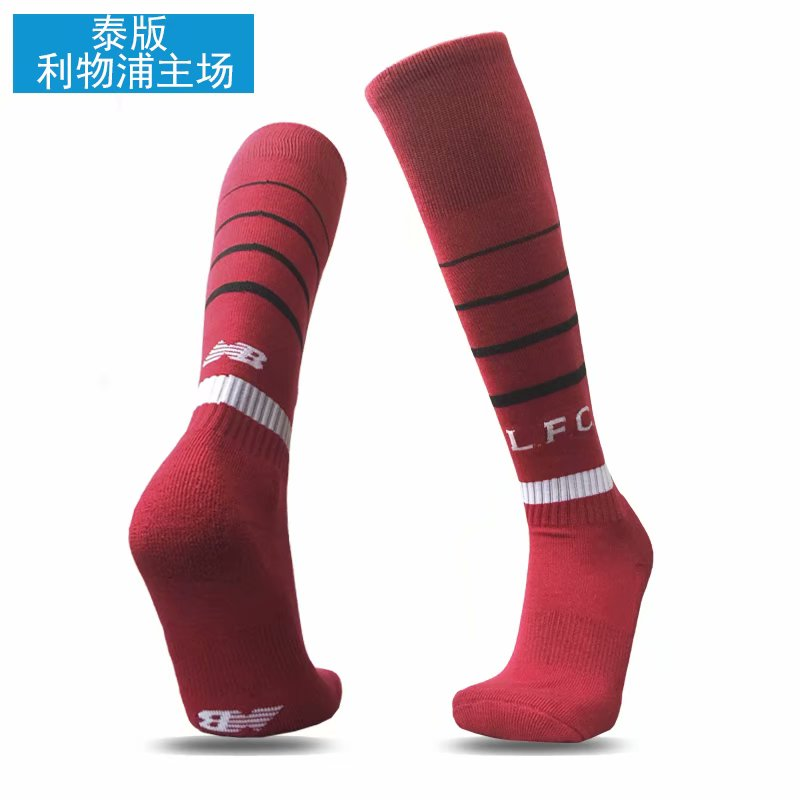 2018-19 Liverpool Home Soccer Socks