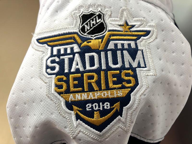 2018 NHL Stadium Series Patch