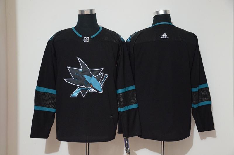 Sharks Blank Black Adidas Jersey