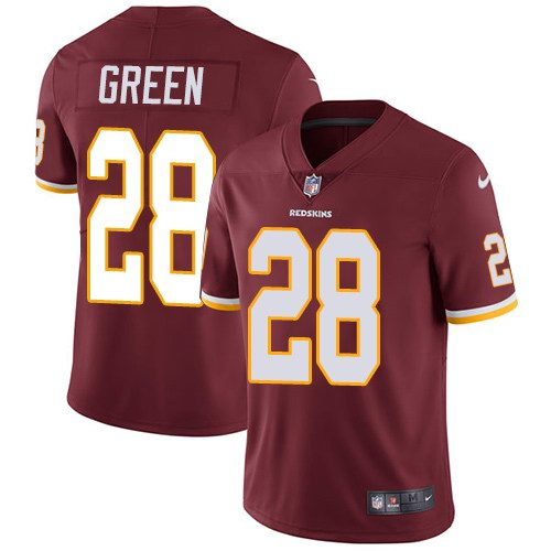Nike Redskins 28 Darrell Green Burgundy Red Youth Vapor Untouchable Limited Jersey