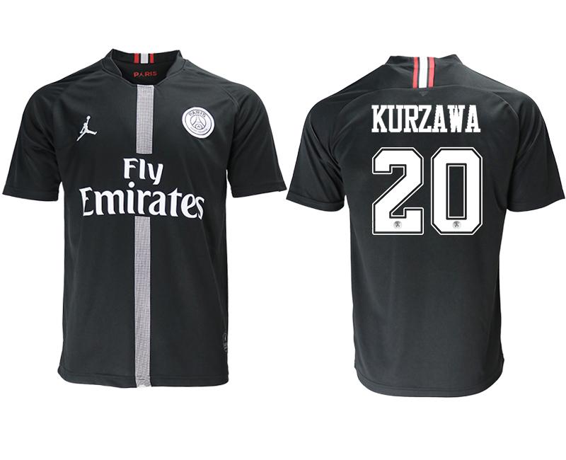 2018-19 Paris Saint-Germain 20 KURZAWA Home Jordan Thailand Soccer Jersey