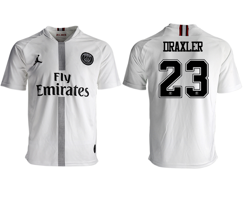 2018-19 Paris Saint-Germain 23 DRAXLER Away Thailand Soccer Jersey