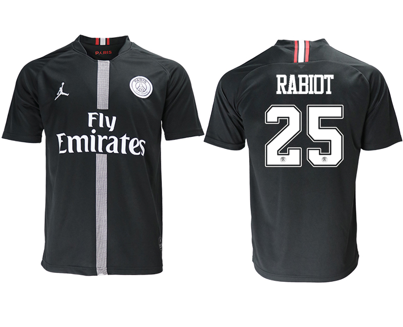 2018-19 Paris Saint-Germain 25 RABIOT Home Jordan Thailand Soccer Jersey