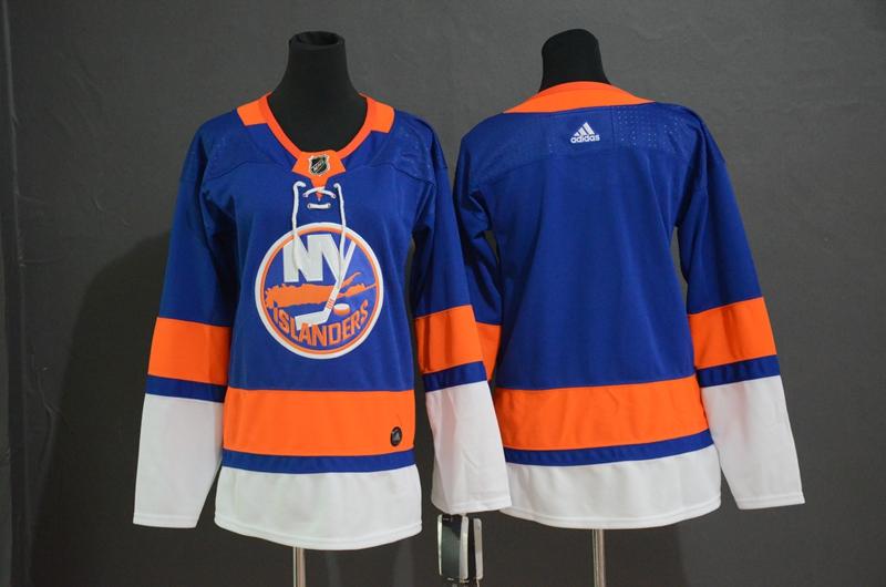 Islanders Blank Blue Youth Adidas Jersey