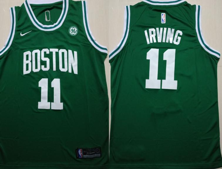 Celtics 11 Kyrie Irving Green Nike Swingman Jersey