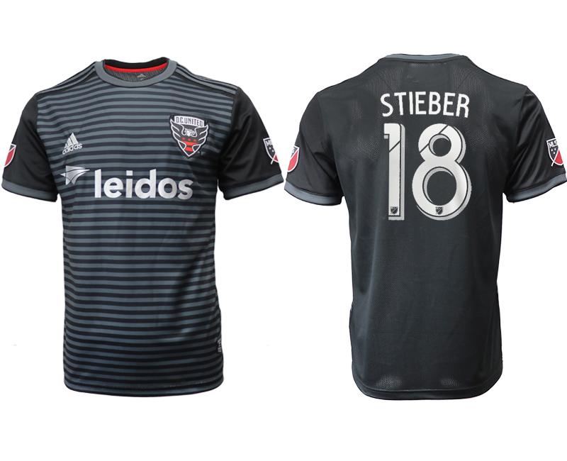 2018-19 D.C. United 18 STIEBER Home Thailand Soccer Jersey