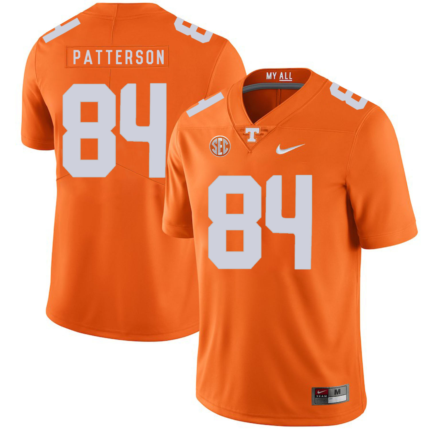 Tennessee Volunteers 84 Cordarrelle Patterson Orange Nike College Football Jersey