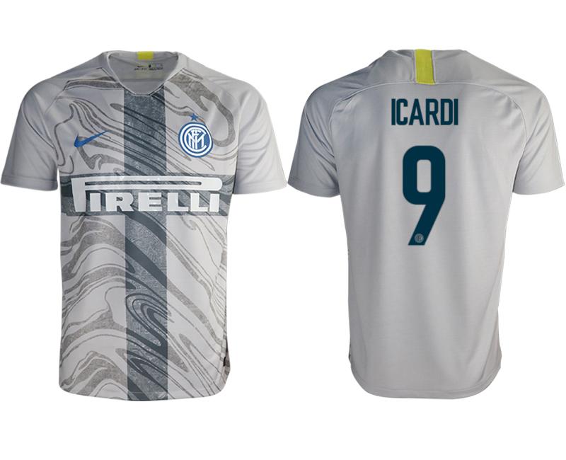 2018-19 Inter Milan 9 ICARDI Third Away Thailand Soccer Jersey
