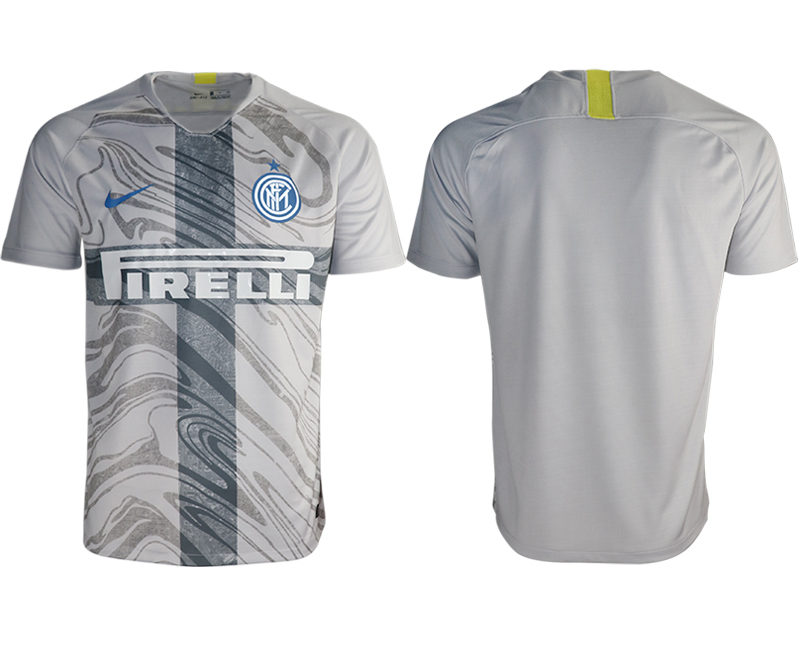 2018-19 Inter Milan Third Away Thailand Soccer Jersey