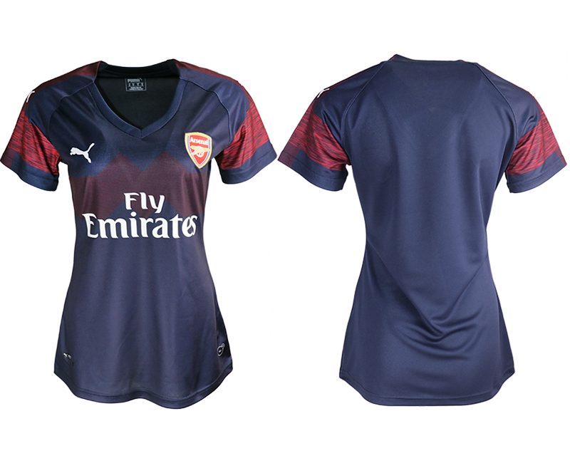 2018-19 Arsenal Away Women Soccer Jersey