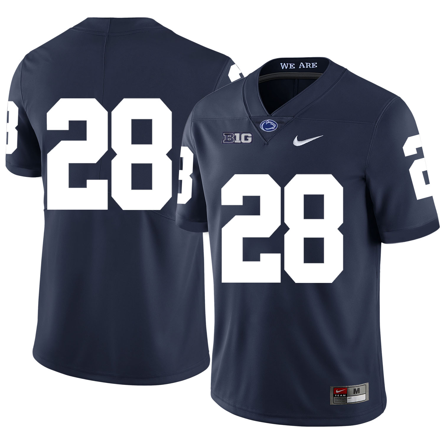 Penn State Nittany Lions 28 Troy Apke Navy Nike College Football Jersey
