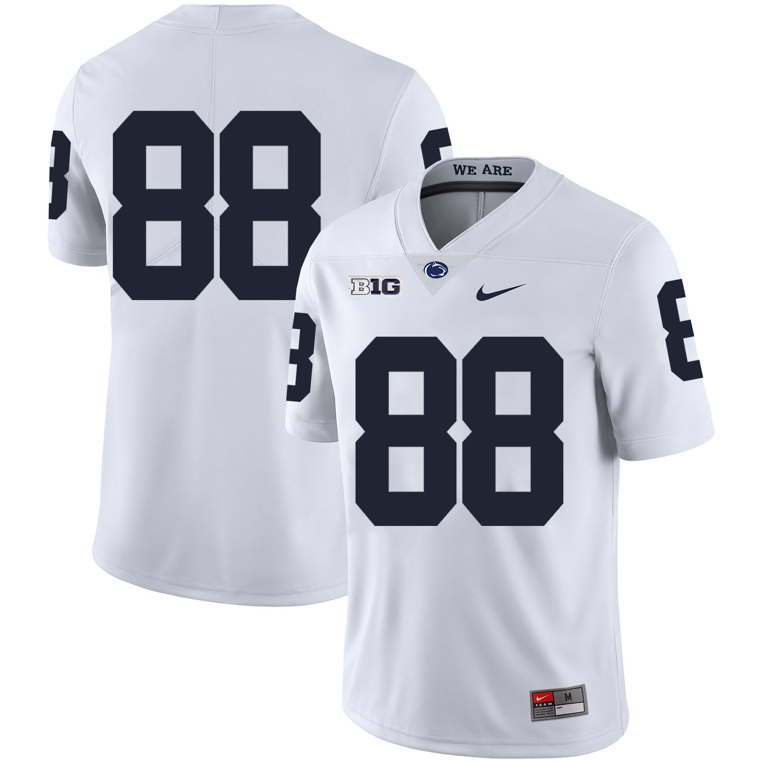 Penn State Nittany Lions 88 Mike Gesicki White Nike College Football Jersey