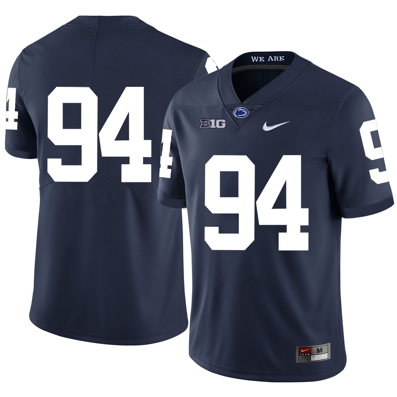 Penn State Nittany Lions 94 Cameron Wake Navy Nike College Football Jersey