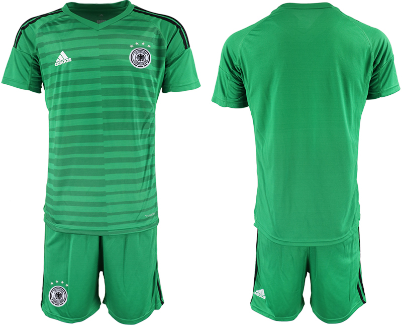 2018-19 Germany Green Goalkeeper Soccer Jersey