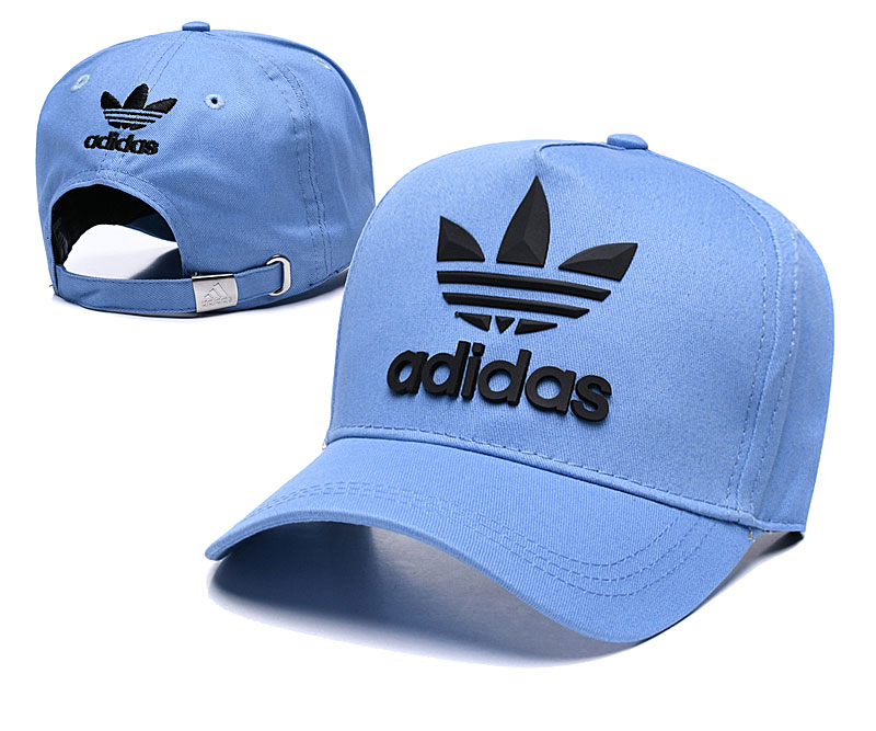 Adidas Originals Classic Blue Peaked Adjustable Hat TX