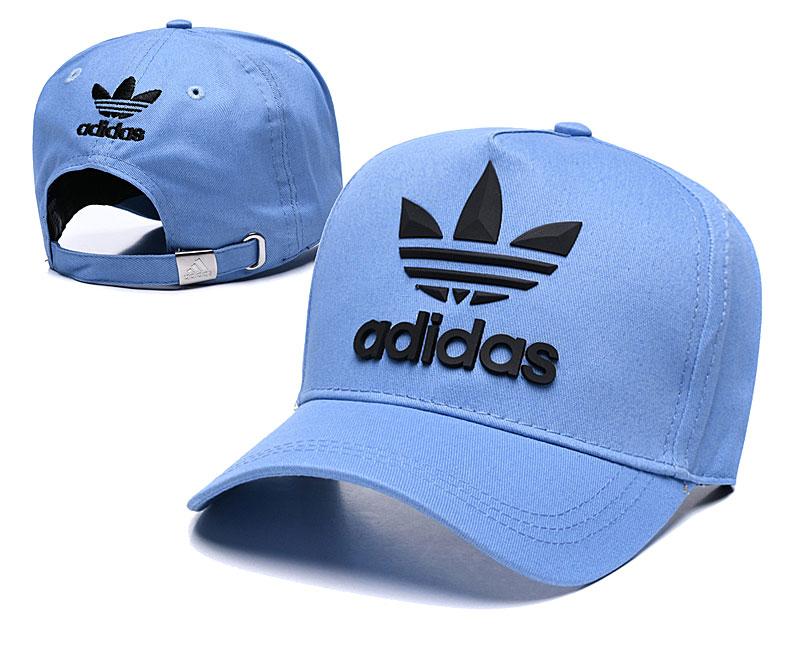Adidas Originals Classic Blue Peaked Adjustable Hat TX