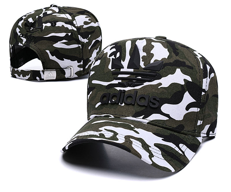 Adidas Originals Classic Camo Camo Peaked Adjustable Hat TX