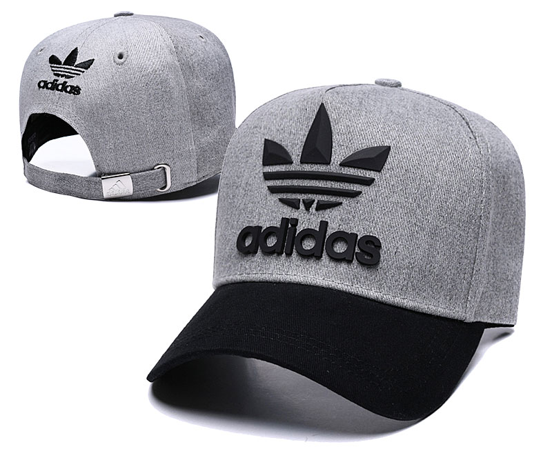 Adidas Originals Classic D.Gray Peaked Adjustable Hat TX