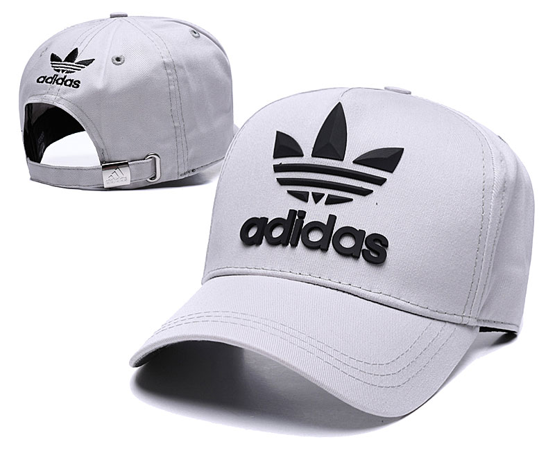 Adidas Originals Classic Gray Peaked Adjustable Hat TX