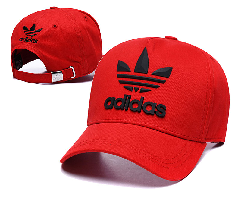 Adidas Originals Classic Red Peaked Adjustable Hat TX