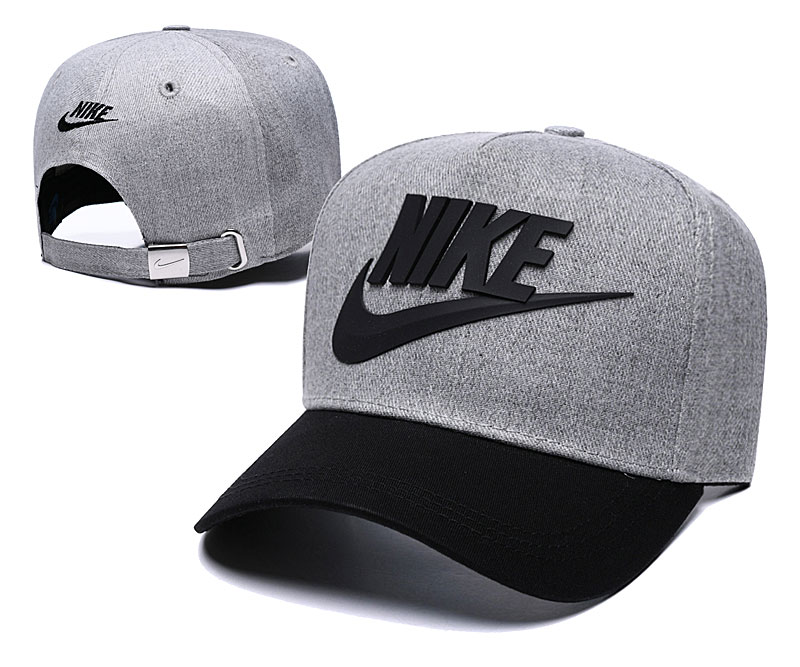 Nike Classic D.Gray Black Peaked Adjustable Hat TX