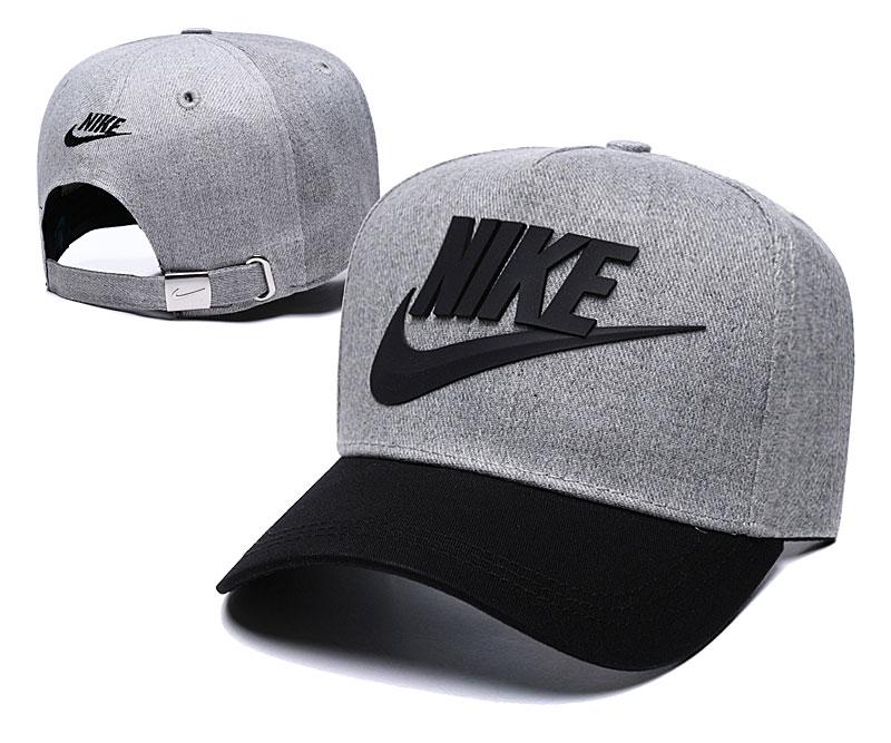 Nike Classic D.Gray Black Peaked Adjustable Hat TX