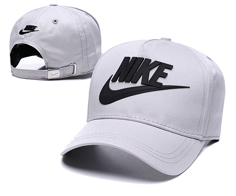 Nike Classic Gray Peaked Adjustable Hat TX
