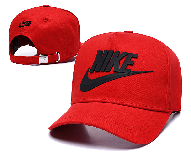 Nike Classic Red Peaked Adjustable Hat TX