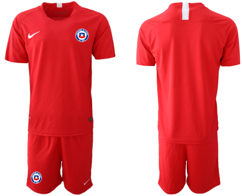 2018-19 Chile Home Soccer Jersey