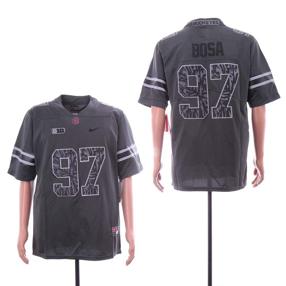 Ohio State Buckeyes 97 Joey Bosa Black Nike College Football Jersey